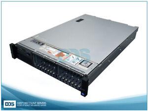 Dell R720 16 SFF (2)E5-2620 6-C 2Ghz 192GB PERC H710 (4)1G NIC (2)750W Rails