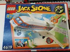 Lego 4619 Jack Stone - Forschungsflugzeug, 64-Teile   Karton beschädigt