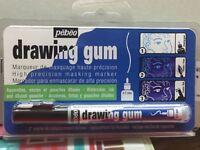 Pebeo Drawing Gum Masking Fluid Precision Marker Pen 0.7mm Nib