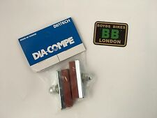 Dia Compe Brake Pads SALMON 1 x pair - Old School BMX MX1000 MX900