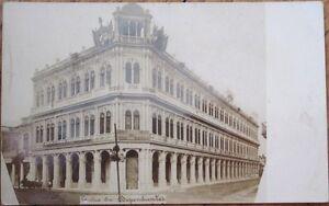 Havana/Habana, Cuba 1908 Realphoto Postcard: 'Centro de Dependientes'