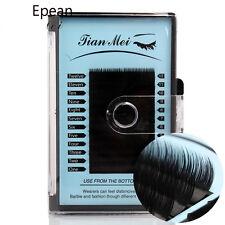 Fine 12 Rows Soft Mink Fur Individual False Eyelashes J/b/c Curl Mixed Length B 9 11mm