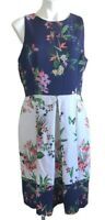 TAHARI Arthur S. Levine Dress Size 14  butterfly fit flare Cocktail Party