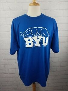 NWT Vintage 1990s BYU Cougars T Shirt Size Men's XL NEW Old Stock Vtg 90s