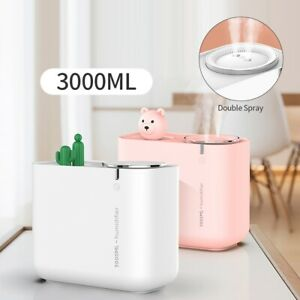 Electric Air Diffuser Aroma Oil Humidifier LED Night Light Aromatherapy Diffuser