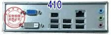 Intel I/O IO SHIELD BACKPLATE Intel DQ35JOE motherboard #G737 XH