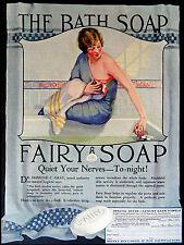 Fairy Bath Soap, Retro Vintage Metal Sig/Plaque Bathroom Gift