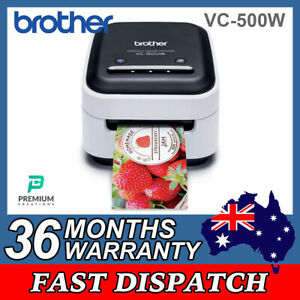 Brother VC-500W  Full Colour Professional Thermal  Label Printer with Warranty