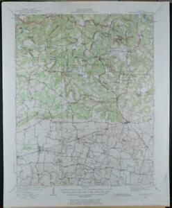 Mammoth Cave Kentucky Antique USGS Topographic Map Printed 1922 16x20 Art