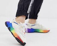 adidas originals ozweego pride rainbow trainers size 5 unisex