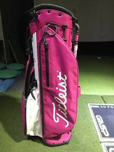 Titleist Players 4 Plus Stand Bag Pink/White New