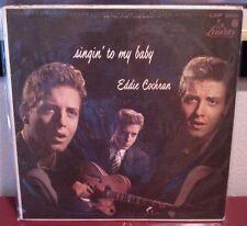 EDDIE COCHRAN Singin' To My Baby LIBERTY {LRP 3061} RARE MONO Vinyl Record LP