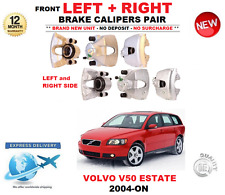 FOR VOLVO V50 MW ESTATE 2004-ON FRONT LEFT and RIGHT BRAKE CALIPERS PAIR