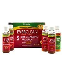 Detoxify Detox EverClean 5 Day Cleansing Program kit Honey Tea Flavor,USA