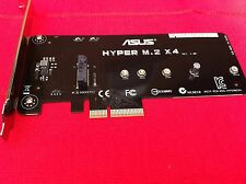 ORIGINAL ASUS HYPER M.2 X4 ACCESSORY FOR MOTHER BOARD Z97 SERIES  AND OTHERS