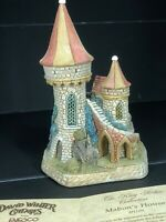 David Winter Cottages ~ Mabons House ~ King Arthur Coll MIB Coa New Perfect Rare