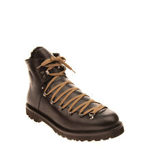 BALLY Leather Hiking Style Boots RIGHT SHOE ONLY EU44 UK10 US11 Lace Up