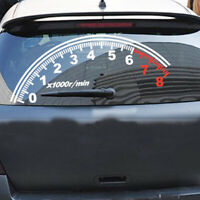 Car Decal Speedometer Vinyl Graphics Reflective Sticker Accessories Windshield C