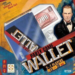 Cryptozoic Entertainment 02673CZE Wallet Board Game FREE SHIPPING