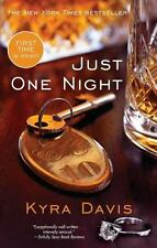 Just One Night, Davis, Kyra, Good Condition, Book