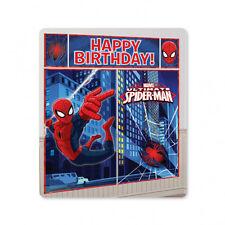 SPIDERMAN grande festa di Compleanno Decorazione Murale Poster SCENA SETTER SPIDER-MAN