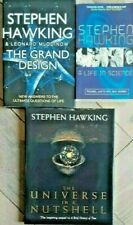 3x Stephen Hawking - UNIVERSE IN A NUTSHELL / GRAND DESIGN / A LIFE IN SCIENCE