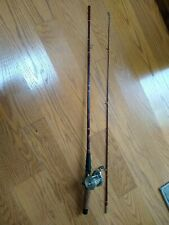 Vintage Garcia Conolon  29563 6ft 2 pc Med Action Fast Taper w/ Shakespeare reel