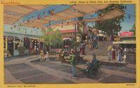 Postcard Plaza China City Los Angeles CA 1948
