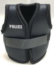Police Vest Stubby Holder, Black LBV, Police Equipment, 1 x Bottle holder