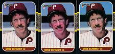 (3) Mike Schmidt - 1987 Donruss - # 139 - FREE SHIPPING!