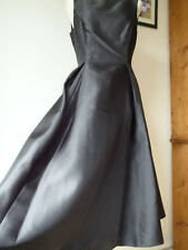 Adrianna Papell,Black Midi Dress,Special occasion,wedding,party,prom Ball,BNWT.