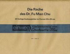 Die Rache des Dr. Fu Man Chu ORIGINAL Umschlag Chr. Lee
