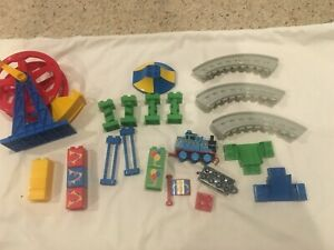 Mega Bloks 10516 Thomas And Friends Sodor Fair Replacement Part Lot Ferris Wheel