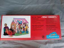 Walt Disney Vintage Kinderhaus /-zelt Spielhaus innen & aussen 102x78 Unbenutzt