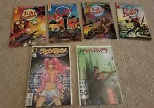 Team Yankee #1-3 & 5, Spyboy The Manga Affair, Vampi Digital 01 lot comics