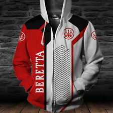 BERETTA- Top Gift-Man's Zipper Hoodie 3D-SO COOL- SIZE S TO 5XL