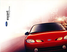1999 Ford Escort and ZX2 22-page Original Sales Brochure Catalog