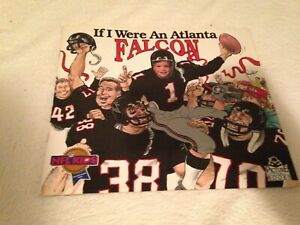 IF I WERE AN ATLANTA FALCON FALCONS Vintage NEW Children's Book NFL free ship
