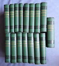 16 VOLUMES HARDBOUND CHARLES DICKENS: CHAPMAN AND HALL ILLUSTRATED