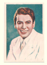 1936 Spanish Nestle Film Star Paper Thin Stamp Sticker  #68 Paul Muni