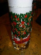 12 Twelve Days of Christmas Drinking Glass #5 Gold Rings  Replacement