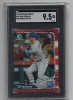 2019 Bowman Chrome #92  Ryan O' Hearn RC Red Refractor 5/5 SGC 9.5! Royals!