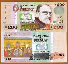 Uruguay, 200 Pesos Uruguayos, 2006, P-89a, Serie C, UNC
