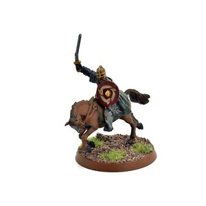 LOTR Rohan Captain Mounted #1 Games Workshop