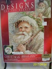 DESIGNS for the needle  GRANDFATHER FROST # 319841 counted cross stitch kit 2000