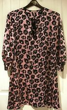 Juicy Couture Stevie Dress in Prim pink and black gorgeous Size XS
