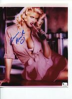 Anna Nicole Smith Rare Playboy Playmate Signed Autograph Photo COA