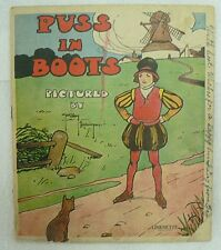 PUSS IN BOOTS CHILDREN'S BOOKLET