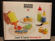 NEW IN BOX Kuhn Rikon Switzerland Cookie and Cake Decorating Set