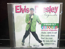 CD ELVIS PRESLEY LA LEGENDE 1956-1957 VERSIONS ORIGINALES SHAKE RATTLE ROLL